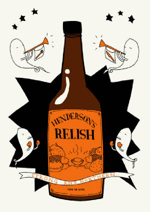 Kid Acne Hendo's Henderson's Relish Sheffield Archipelago Gallery Sheffield